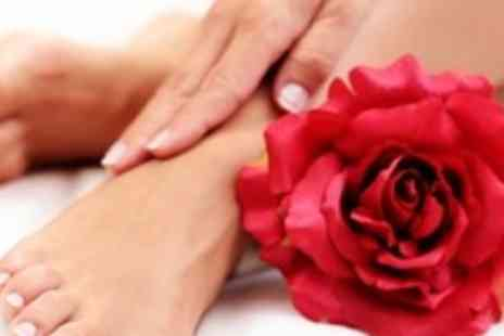 Krem Beauty Unisex Salon - 45 to 60 minute pedicure or manicure - Save 68%