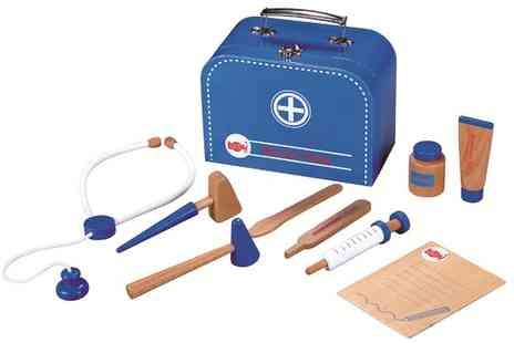 Groupon Goods Global GmbH - Lelin Wooden Doctors Playset - Save 57%