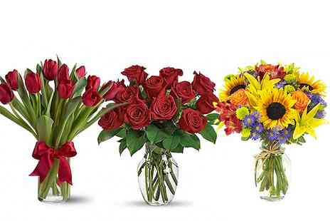 flowers delivery 4 u - £30 to Spend on flowers online - Save 50%