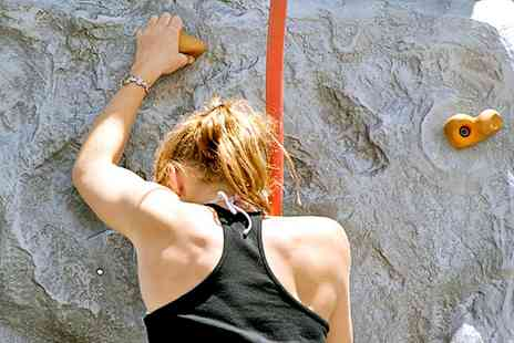 Extreme Ventures - Introduction to Rock Climbing for One, Two or Four - Save 75%