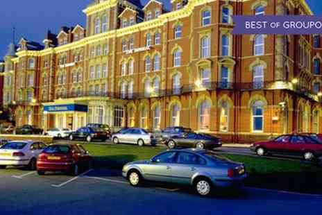 Imperial Hotel Blackpool - One or Two Nights Stay for Two with Breakfast, Dinner, Wine, Leisure Club Access, and Late Check Out - Save 0%