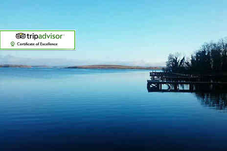 Lusty Beg Island - Two night Irish Island stay for two with a full Irish breakfast and Voya sea salt bath treatment each - Save 58%