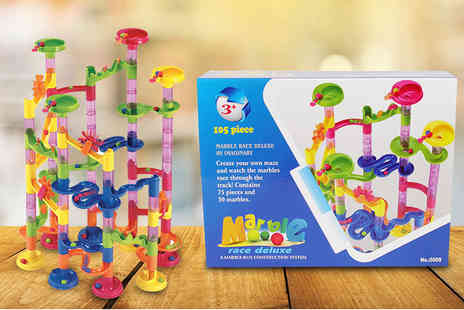 ViVo Technologies - 105 piece marble run game - Save 71%