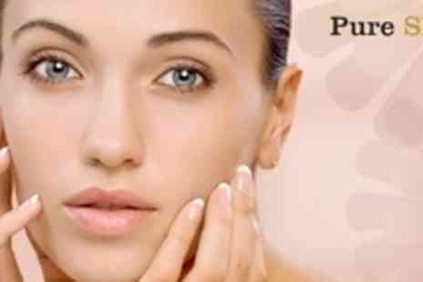 Pure Skin - 60 Minute Facials for Three Sessions Plus Consultation - Save 67%