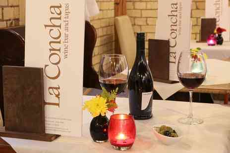 La Concha - Lunch of Spanish Tapas for Two or Four - Save 43%