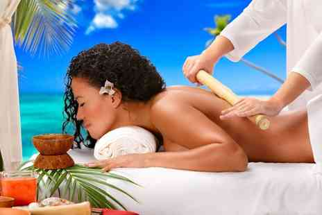 FICBA Therapy - One Hour Bamboo Massage - Save 40%