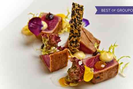 Triple AA Rosette Avista - Five or Seven Course Tasting Menu with Bellini and Petit Fours for Two - Save 67%