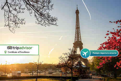 Weekender Breaks - Two night Paris break with flights and breakfast - Save 23%