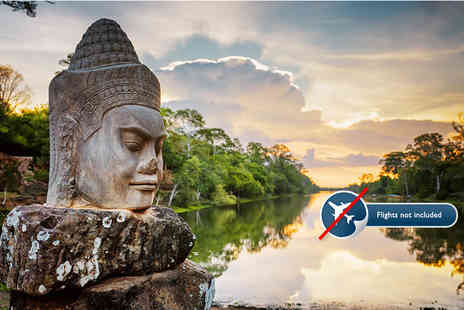 Halong Tours Booking - Six night tour of Cambodia including accommodation, English speaking tour guides and selected meals - Save 77%