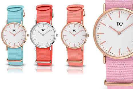 Buy Bay - Tom Carter Collection watch choose from 10 colours - Save 59%