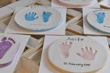Pottery Yarn - Baby Hand and Foot Clay Imprints - Save 33%