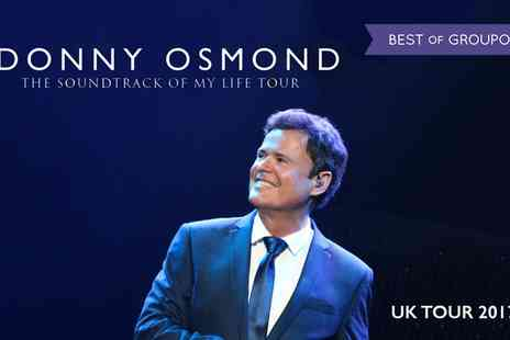 Donny Osmond Tour 2017 - Donny Osmond Tour on 21 January to 3 February - Save 30%