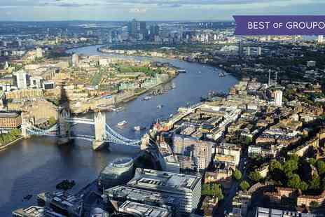 Talk Tourism - Adult or Family Tickets to Tall Ships London Boat Tour on the River Thames - Save 31%