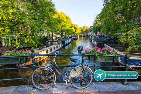 KPX Travel - Two or three night Amsterdam break including flights - Save 61%
