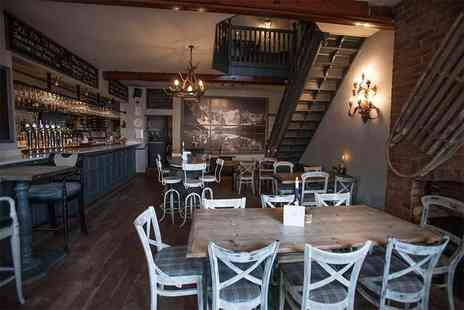 Piste Wine Bar and Restaurant - Sunday lunch for two people including a coffee each - Save 55%