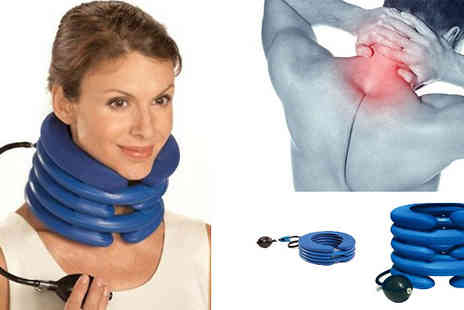 121 Mart - Inflatable Neck Support Cushion - Save 60%