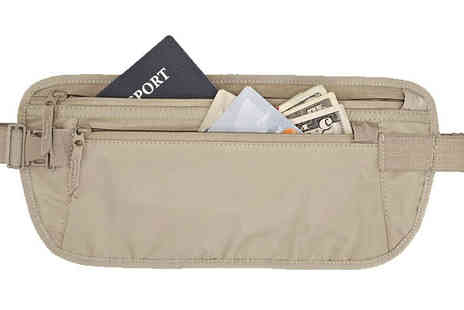 121 Mart - 2 x Travel Money Belts - Save 61%