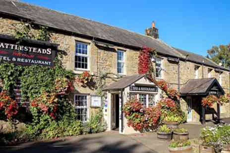 Battlesteads Hotel & Restaurant - Two Night Stay with Course Dinner - Save 50%