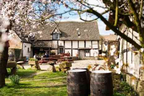 The Fleece Inn - Three Course Meal for 2 at Medieval Worcestershire Pub - Save 45%