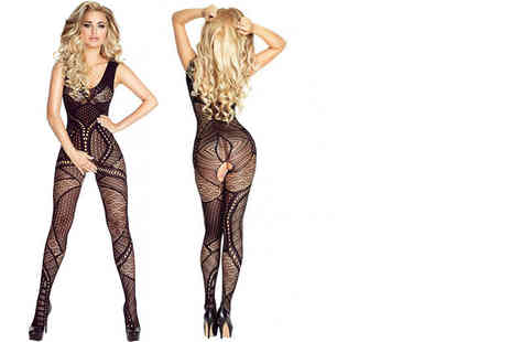 Who Runs the World - Sexy Courtney bodystocking - Save 73%