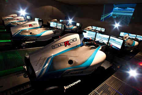 Lets Race - Formula 1 race simulator experience - Save 50%