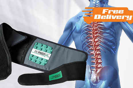 Best of the UK - Biofeedbac Posture Support Belt with Free Delivery - Save 74%