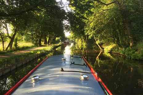 Lancashire Canal Cruises - Cheese and Wine Cruise for One or Two - Save 0%