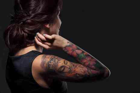 London Tattoo -  £120 voucher towards tattoo work at a choice of two locations including London Ink studio as seen on the Discovery Channel - Save 76%