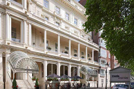 Thistle Hyde Park - Four Star 1 night Stay in a Deluxe Room - Save 70%