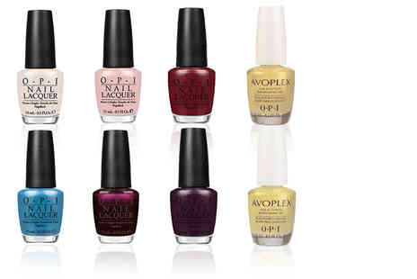 Miisee - Four piece OPI nail lacquer bundle choose from two sets - Save 63%