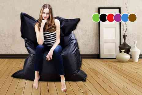 ViVo Technologies - Giant beanbag pillow choose from six colours - Save 72%
