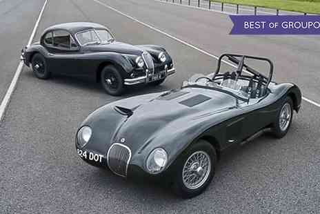 Jaguar First - Jaguar Le Mans or Jaguar Classic Sports Car Driving Experience - Save 0%