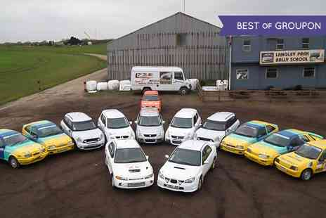 Langley Park Rally School - Junior Driving Experience For Up to Four - Save 61%