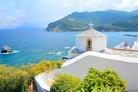 Skopelos Village Hotel - Enjoy a great Four Star stay in either a Junior Suite or a Sea Breeze Suite - Save 40%