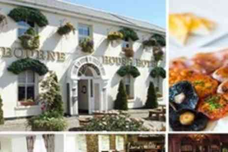 Ashbourne House Hotel - 2 Night Stay for 2 with a Traditional Full Irish Breakfast and One Evening Meal In Co Meath - Save 51%