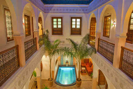 Riad LArbre Bleu - Four nights in a Standard Double Room - Save 43%