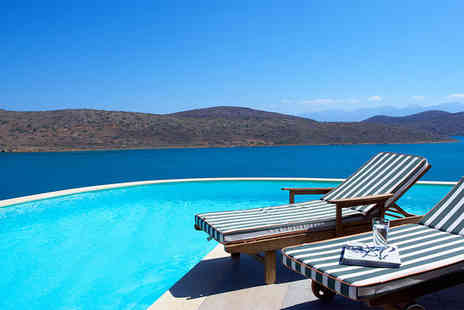 Domes of Elounda - Five Star 7 nights Stay in a Family Sea View Suite with Outdoor Heated Jacuzzi - Save 0%