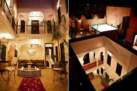 Riad Palais Delia - Seven nights Stay in a Deluxe Room - Save 43%