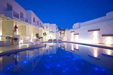 Mykonos Ammos Hotel - Five Star 7 nights Stay in a Superior Double Room with Pool or Garden View - Save 38%