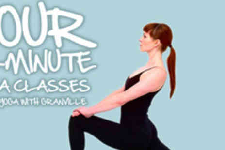 Yoga With Granville - Embrace the calm with four sessions of Yoga with Granville - Save 70%