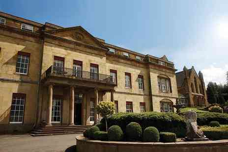 Shrigley Hall Hotel - Two course courtyard lunch for two people with a glass of Prosecco each - Save 28%