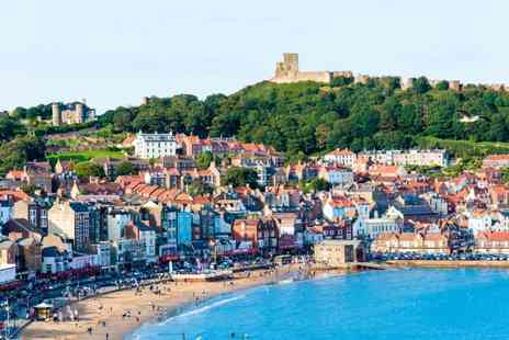 Scarborough Travel & Holiday Lodge - One or Two night stay for two with wine on arrival and breakfast - Save 32%