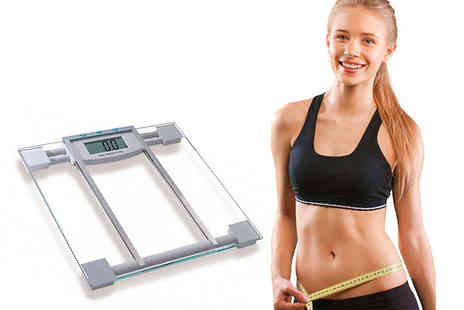 DUK - Set of BMI bathroom scales - Save 70%