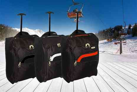 Pearl Info - Cabin approved suitcase choose from six colours - Save 81%