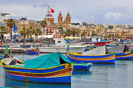 Weekender Breaks - all inclusive three night Four Star Malta break with flights - Save 21%