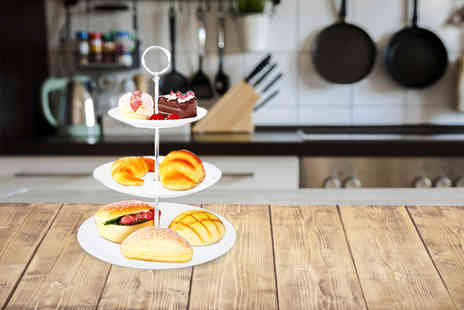 Plus Bee.Com - Three tier cake stand or Seven tier - Save 72%