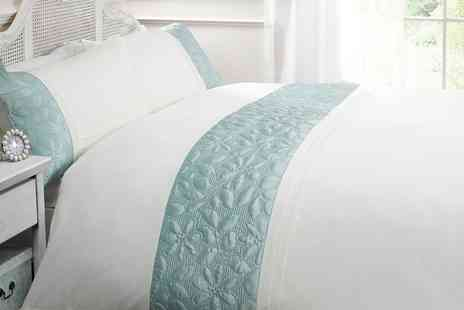 Groupon Goods Global GmbH - Boutique Duvet Set in Choice of Colour and Size - Save 66%