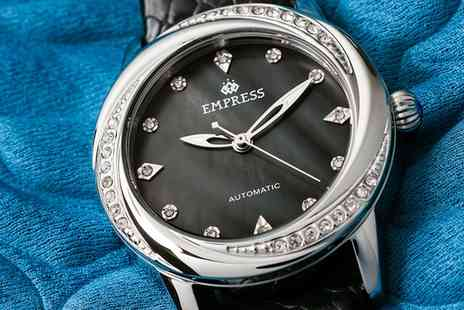 Groupon Goods Global GmbH - Empress Ayala Automatic Watch With Free Delivery - Save 83%
