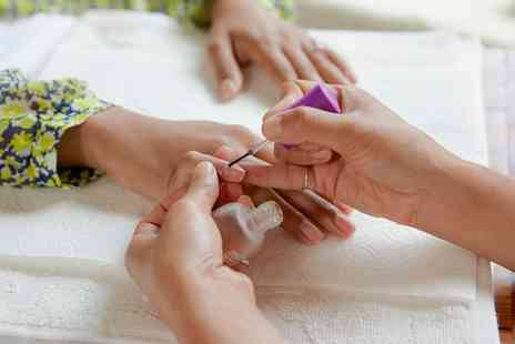 The Beauty Tree - Shellac Manicure or Pedicure or Both - Save 54%