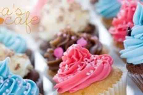 Evas Cafe - Two Hour Cupcake Decorating Class - Save 73%